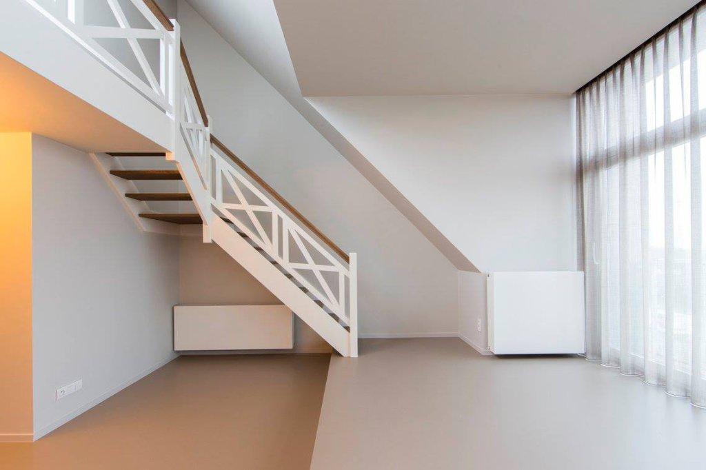 Houten trappen poperinge moderne design rustieke cottage